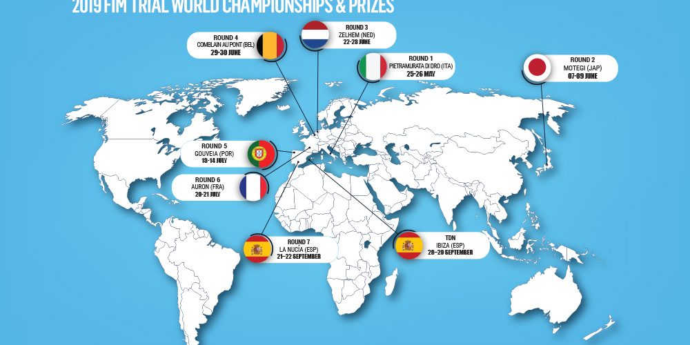 Portugal is the 5th round of the 2019 FIM-Trial World Championship
